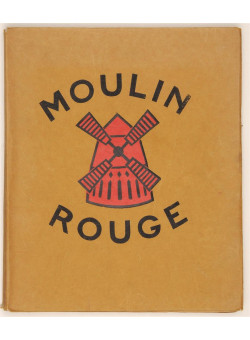 "Original Vintage Book of Lithographs by Van Houten ""Moulin Rouge"" HENRY-JACQUES 1925"