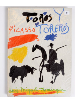 """Limited Edition Picasso """"Toros Y Toreros"""" Lithography by Mourlot 2nd Ed. 1962"""