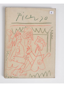 "Limited Edition Pablo Picasso ""Les Dejeunres"" Text by Douglas Cooper 1962"