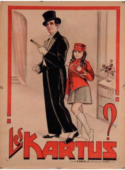"Original Vintage French Poster for ""Les Kartus"""