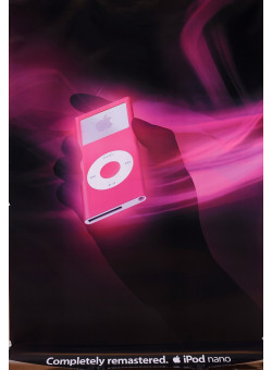 Original American Poster Advertising iPod Nano