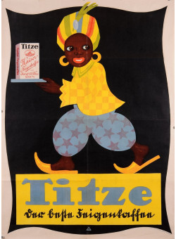 """Original Vintage French Poster for """"Titze"""""""