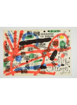 """Derriere le Miroir"" (DLM) no. 151-152 (1965) including 22 Original Lithographs by Juan Miro"