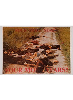 "Original American Propaganda Poster for ""Four More Years"""