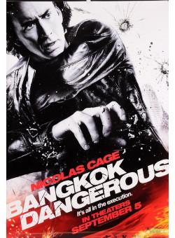 "Original Vintage French Movie Poster for ""Bangkok Dangerous"""