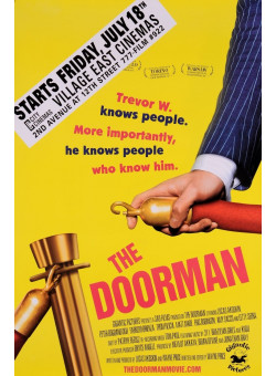 "Original Vintage French Movie Poster for ""The Doorman"""