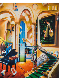 """Ferjo  """"Green Stairs"""" 2006 
