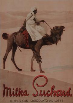 Italian Chocolate Poster MILKA SUCHARD