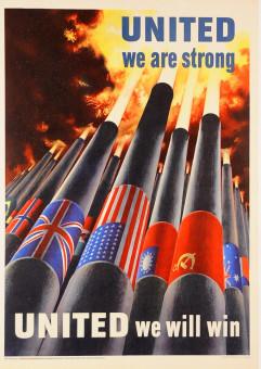 Original Vintage American Prpoganda Poster