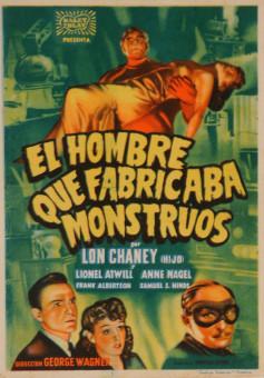 Original Vintage Spanish Movie Poster