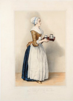 Advertising Poster for Hot Chocolate by Liotard