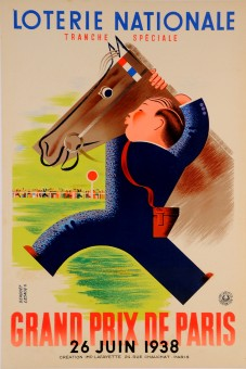 Original Loterie Nationale Poster
