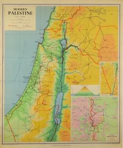 Original Vintage Map