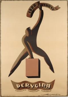 Original Vintage Italian Poster Advertising