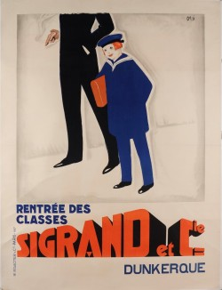 Original Vintage French Advertising Poster