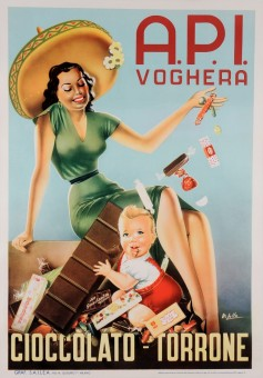 Original Vintage Italian Poster