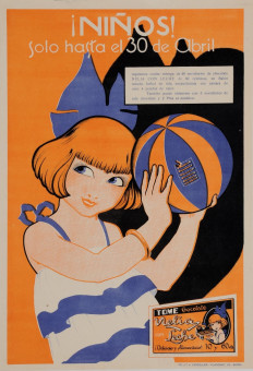 Original Vintage Spanish Poster