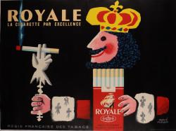 Original French Tobbocco Poster  S.E.I.T.A.