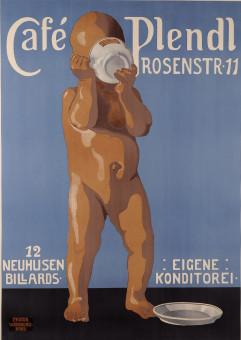 Original Vintage German Poster