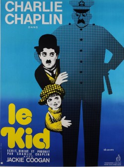 Original Vintage French Movie Poster for Charlie Chaplin