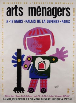 Original French Advertising Exhibition Poster for the