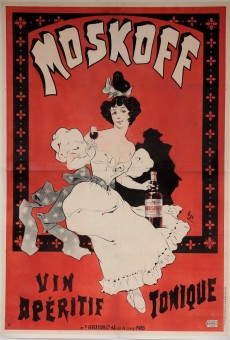 Original French Alcohol OVERSIZE Poster