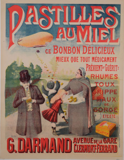 Original Vintage French Poster Advertising
