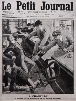 Original Vintage French Newspaper Poster Advertising