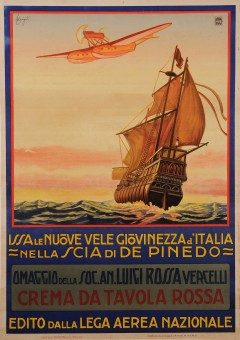 Original Vintage Italian Poster for