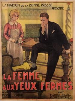 Original Vintage French Movie Poster Advertising
