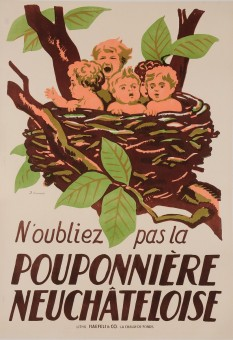 Original Vintage French Children Poster