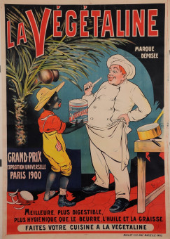 Original Vintage French Food Poster for