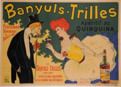 Original Vintage French Alcohol Poster