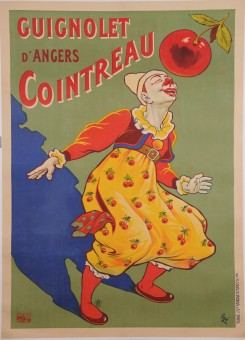 Original Vintage French Alcohol Poster for