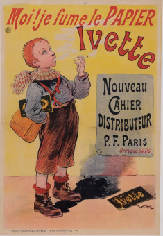 Original Vintage French Children Poster for