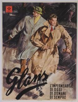 Original Vintage Italian Fasion Poster Advertising