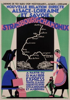 Original Vintage French Travel Poster
