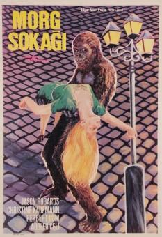 Original Vintage Turkish Movie Poster for