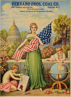 Original Vintage American Poster for