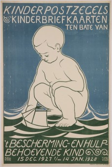 Original Vintage German Children Poster
