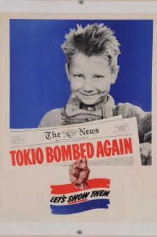 Original American WWII Propaganda Poster