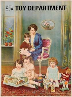 Original Vintage American Children Poster