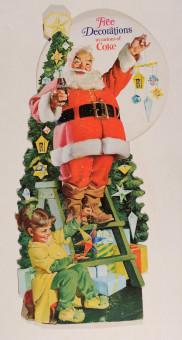 Original Vintage American Christmas Poster