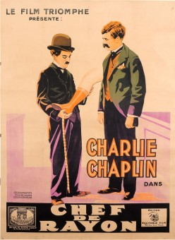 Charlie Chaplin Movie Original Poster