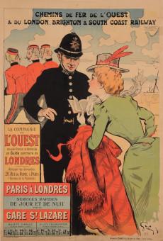 Original Vintage French Travel Poster for