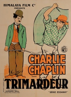 Original Charlie Chaplin Movie Poster