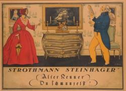 Original Vintage German Alcohol Poster
