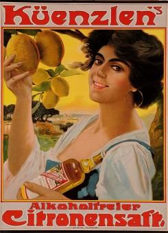 Original Vintage German Advertising Poster for