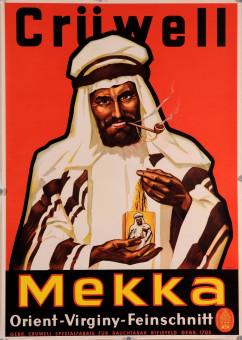 Original Vintage German Poster for Tobacco