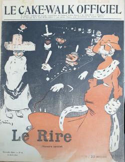 LE RIRE 1903 N°6 Le Cake-Walk Magazine by Jules Alexandre Grün